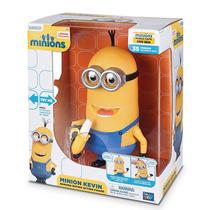 Minions Minion Kevin Come Banana Interactivo Muñeco