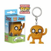 Llavero Jake Hora De Aventura Pop Funko Adventure Time