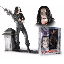 El Cuervo The Crow 13 Pre-painted Soft Vinyl Figura