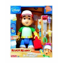 Handy Manny A Trabajar Habla 25 Frases + 7 Herramienta 27cm