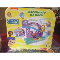 Bubble Guppies Escenario De Rock Incluye Molly Fisher Price