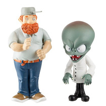 Plants Vs. Zombies -3 Pulgadas Figura De Cómic