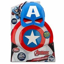 Set Máscara Y Escudo Capitán America Civil War Disney Store