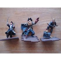 3 Figuras De Los Piratas Del Caribe En 140.00 Por Las 3