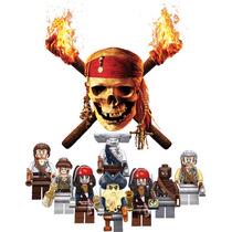 Set Completo De Piratas Del Caribe Jack Sparrow Tipo Lego