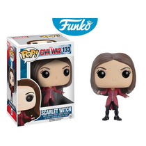 Scarlet Witch Marvel Funko Pop Civil War Capitan America 3