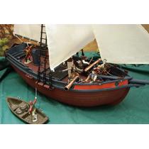Lee Anun Barco Pirata Custom C Jack Sparrow & 7 Figura 1/32
