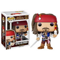 Jack Sparrow Pop! Disney Pirates Of The Caribbean Ig Comics