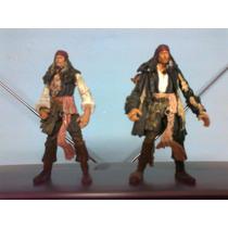 Lote Piratas Del Caribe Jack Sparrow Disney
