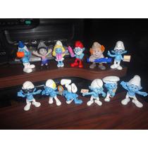 Lote De 12 Figuras Pitufos Smurfs #2 Mcdonalds