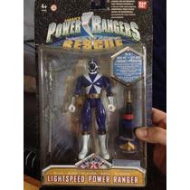 Power Rangers Lightspeed Rescue Blue Azúl Nuevo De Colección