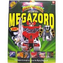 Figura Power Rangers Megazord Deluxe Deluxe Acción
