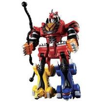 Megazords Power Rangers Furia De La Jungla De Lujo Con Pilas