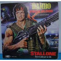 Rambo Disco Acetato First Blood