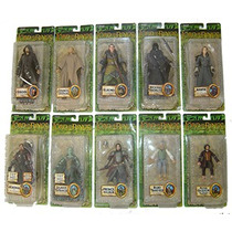 Lord Of The Rings Serie De 10 Fig. Diferentes Serie 9vbc