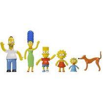 Box Figura Nj Croce Simpsons Family Flexible Acción Conjunto
