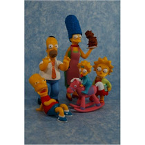 Simpsons #1 Set 8 Figuras Greetings From Springfield Tpf Hm4
