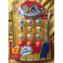 Simpsons 12 Minifiguras Squinkies Serie 2