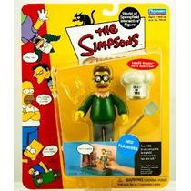 La Figura Simpsons Serie 2 Ned Flanders Acción