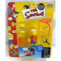 Figura Nueva Kamp Krusty Bart Los Simpsons Playmates Serie 3