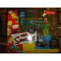 Playmates The Simpsons Bowl-a-rama Boliche Apu Pin Pal Set
