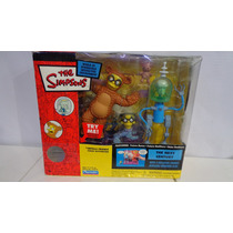 Future Burns, Smithers Y Bobo The Simpsons Playmates