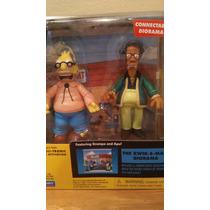 Diorama Simpsons Grampa Y Apu Playmates