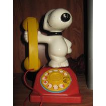 Snoopy Vintage Telefono