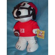 Snoopy Original Futbol Americano Con Su Balon Casco Ndd