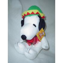 Snoopy Mexicano Con Sarape Y Gorro Original Y Nuevo