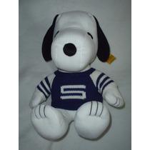 Snoopy Con Sueter De 40 Cms Supersuave Original Nuevo