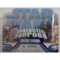 Star Wars. Galactic Heroes. R2d2. Leia