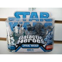 R2-d2 Y Super Battle Droid Galactic Heroes Star Wars
