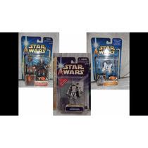 Lote 5fig Aotc Star Wars Vader Jedi Luke Anakin Mcquarrie