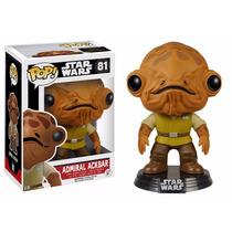 Admiral Ackbar Funko Pop Star Wars Its A Trap Darth Vader