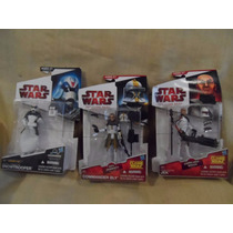 Lote 5 Fig Clone Wars Star Arf 501 Maul Bly Jek Snow Concept