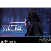 Hot Toys 1/6 Kylo Ren Star Wars Vii 7 The Force Awakens