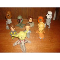 Star Wars 9 Cabezones De Mc Donals Y Burger