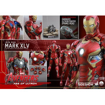 Hot Toys 1/4 Iron Man Mark 45 Xlv Age Of Ultron Preventa