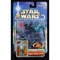 Star Wars Saga Super Battle Droid Aotc Nuevo Legacyts