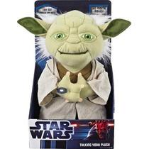 Star Wars Yoda Parlante Mueve La Boca 12 Maestro Jedi