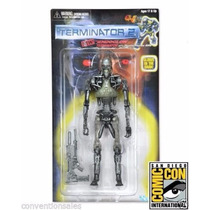Sdcc 2015 Exclusivo Neca Terminator 2 Retro Endoskeleton !!