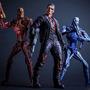Robocop Vs Terminator Video Game Figura T-800 Judgement Neca