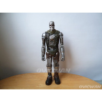 Figura Terminator T-600 Salvation 28 Cm Prende Ojos Pl32