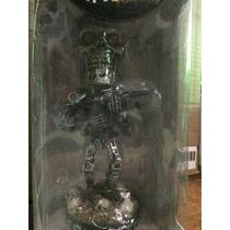 Terminator 2 Neca Head Knockers Endoskeleton Colecciin Nuev