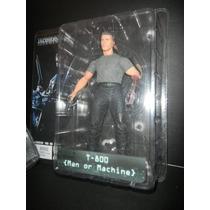 Terminator 2 - T800 - Man Or Machine- Marca Neca