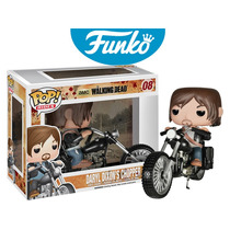 Daryl Dixon Moto Chopper Funko Pop Serie The Walking Dead