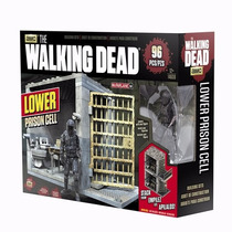Mcfarlane The Walking Dead Lower Prison Cell Set Construir