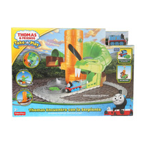 Thomas & Friends Thomas Pista Encuentro Con La Serpiente
