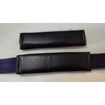 Almohadilla Para Cinturón De Seguridad, Color Negro, Par